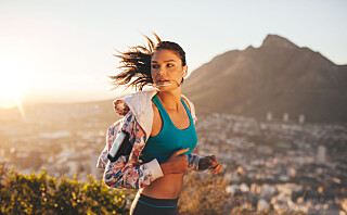 - Du bør nok løpe to-tre ganger i uken over tid for å få øvd deg på løping