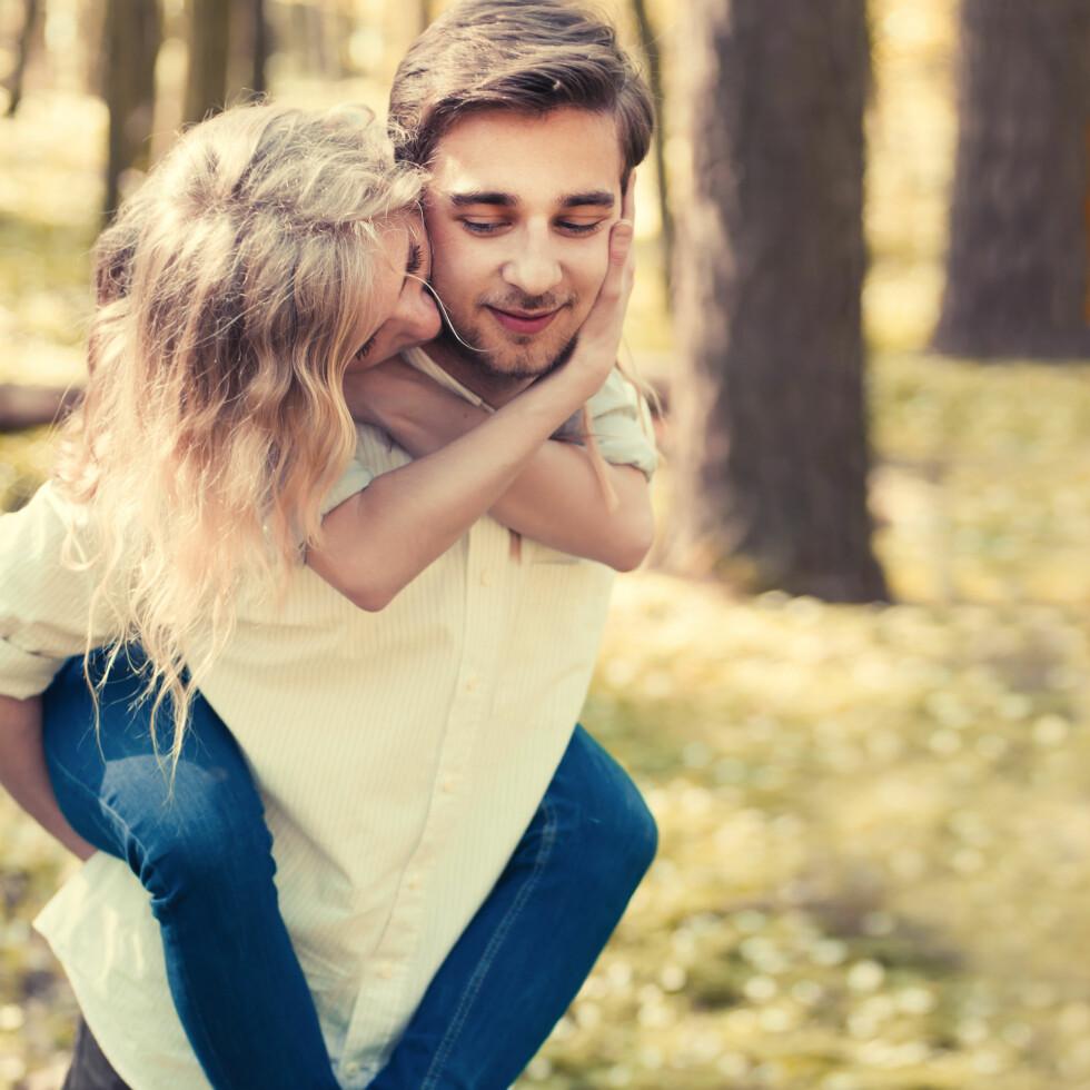 ØKT SEXLYST: Ifølge ekspertene har lengre dager med mer dagslys stor innvirkning på hormonene våre, noe som igjen øker sexlysten vår.  Foto: NTB Scanpix