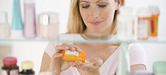 Bruker du faste medisiner?