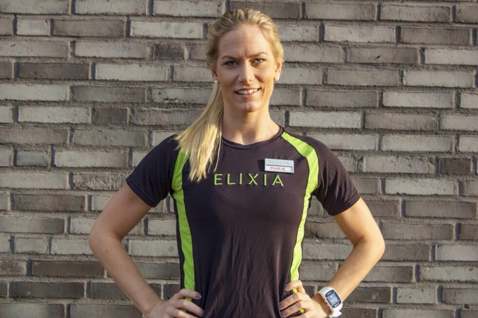 TRENINGSEKSPERT: Marie Louise Liane er personlig trener og ernæringsfysiolog i treningskjeden SATS ELIXIA. Foto: Privat