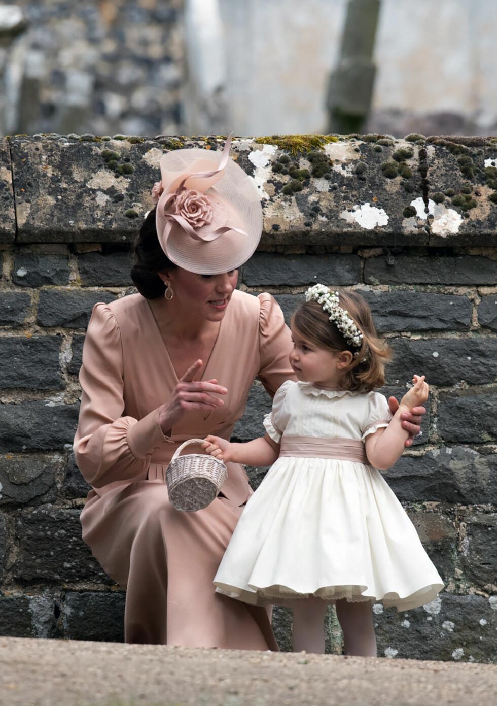 Vi smelter helt av skjønne prinsesse Charlotte! Foto: Pa Photos