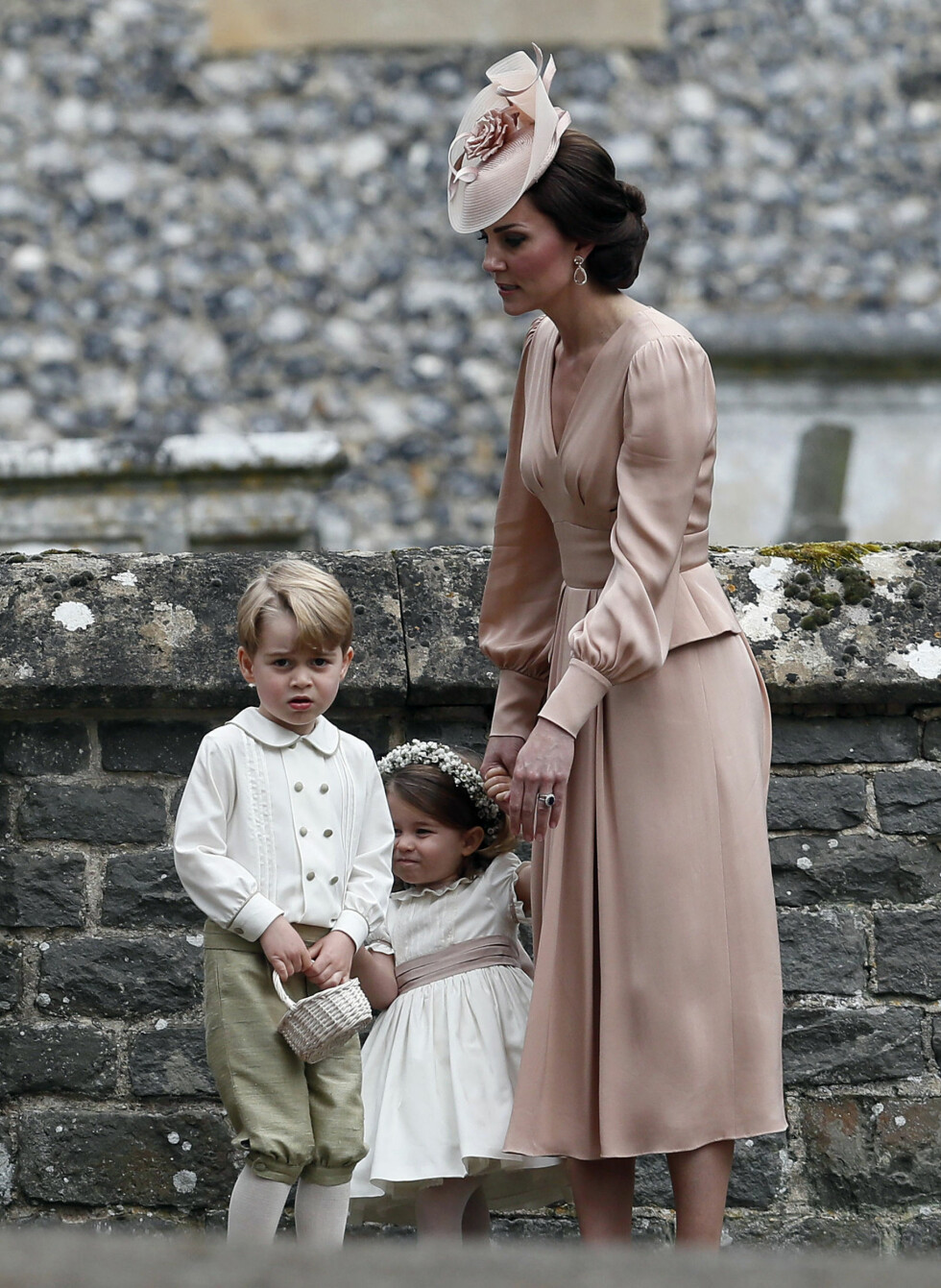 Og der var sjarmtrollet prins George, og! Foto: AP