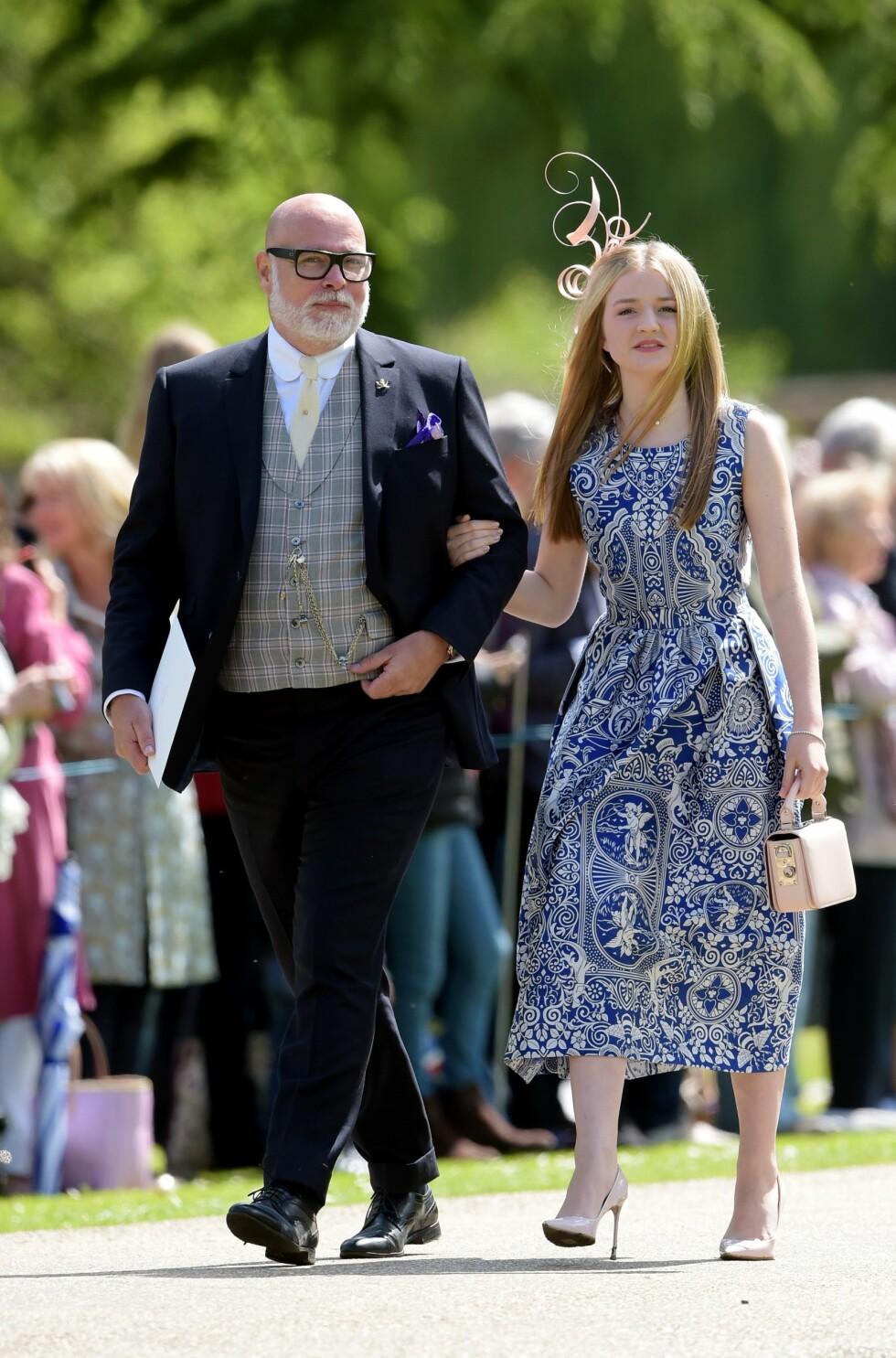 Gjestene ankommer bryllupet til James Matthews og Pippa Middleton  Foto: Shutterstock