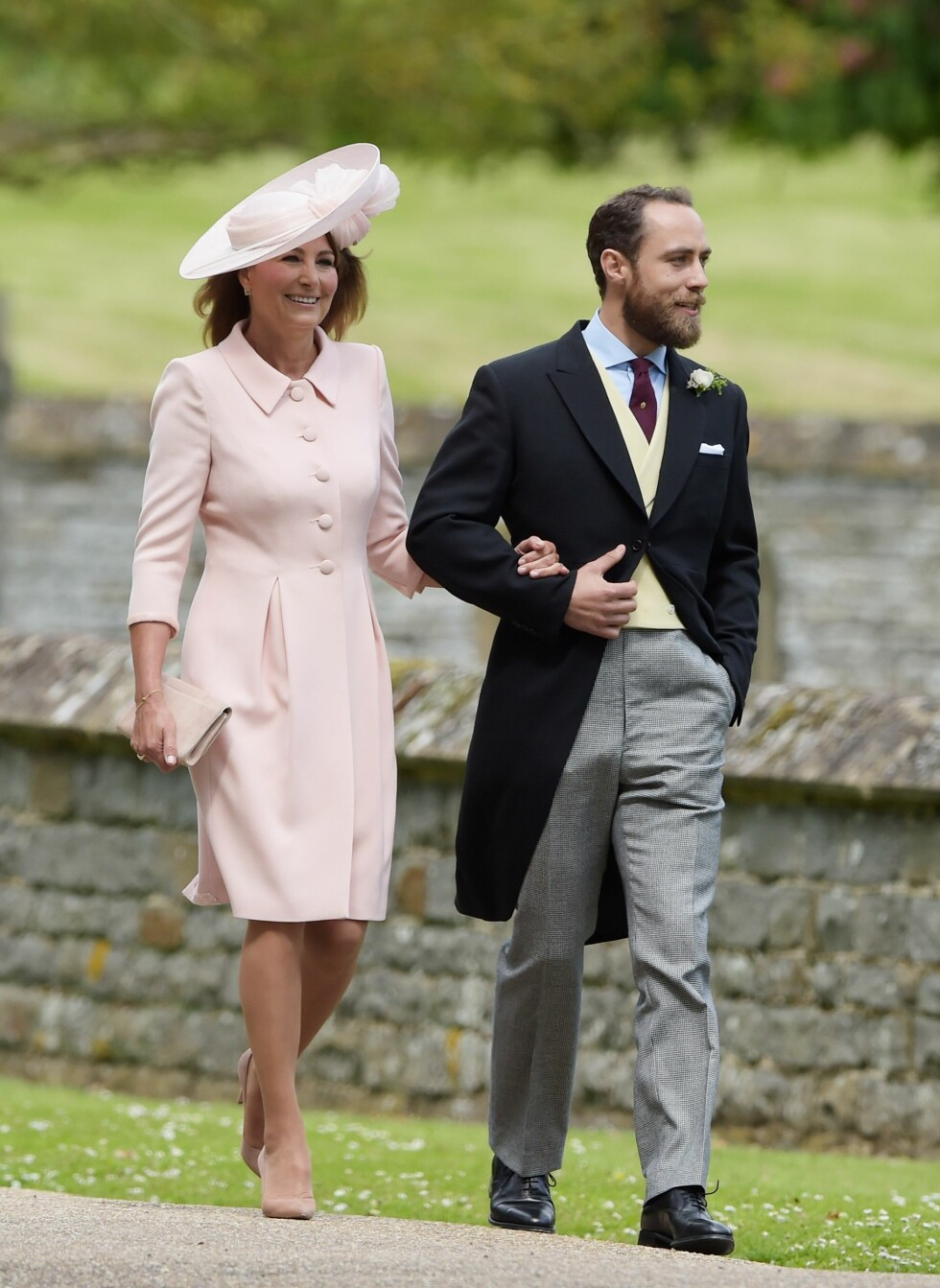 Carole og James Middleton Foto: Shutterstock