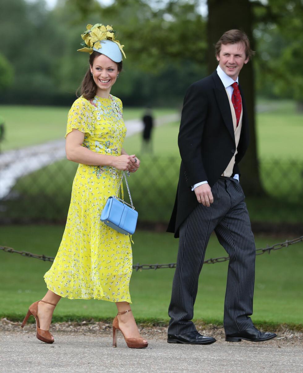 Gjestene ankommer bryllupet til James Matthews og Pippa Middleton Foto: Pa Photos