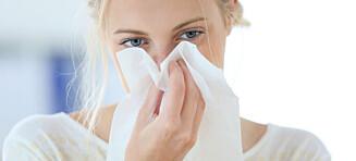 Derfor blør du neseblod