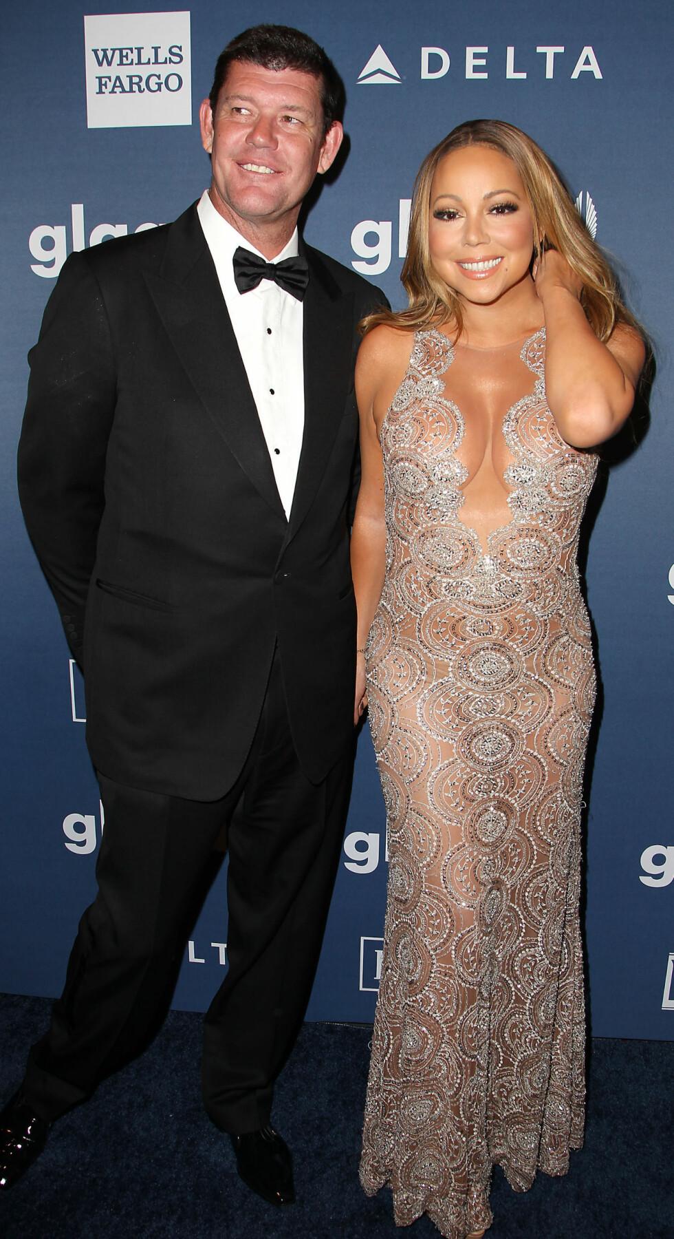 BRUDD: I oktober bekreftet sanger Mariah Carey at hun hadde brutt forlovelsen med forretningsmannen og milliardæren James Packer. De fant lykken i fjor sommer.  Foto: NTB Scanpix