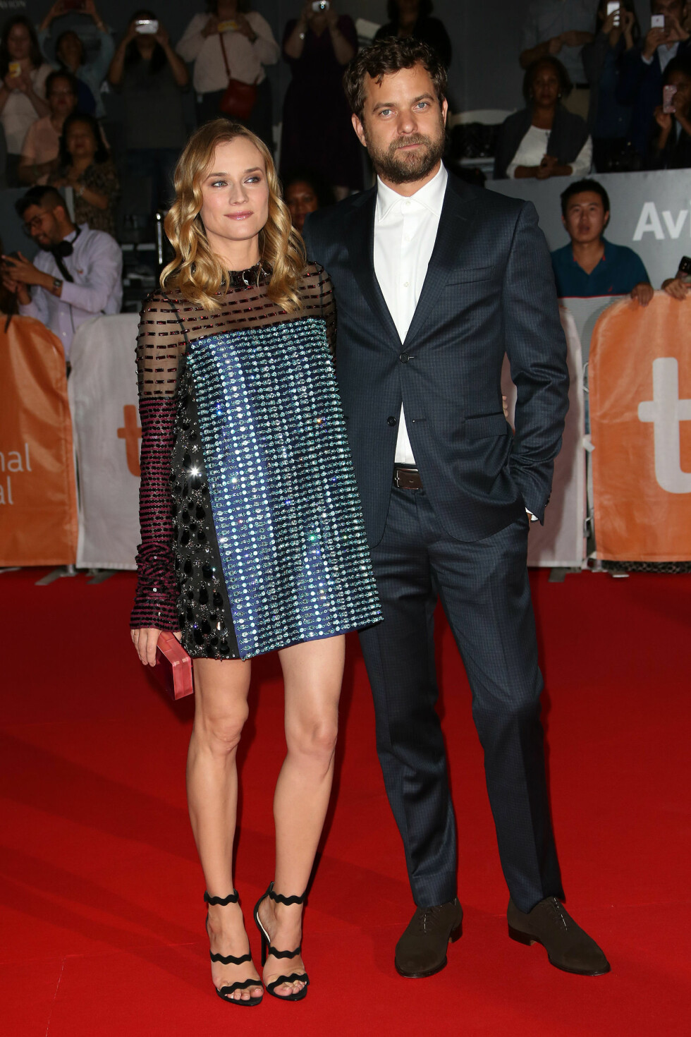 BRUDD: Etter 10 år valgte skuespillerparet Joshua Jackson og Diane Kruger å gå hvert til sitt. Bruddet ble kjent i sommer. Foto: NTB Scanpix