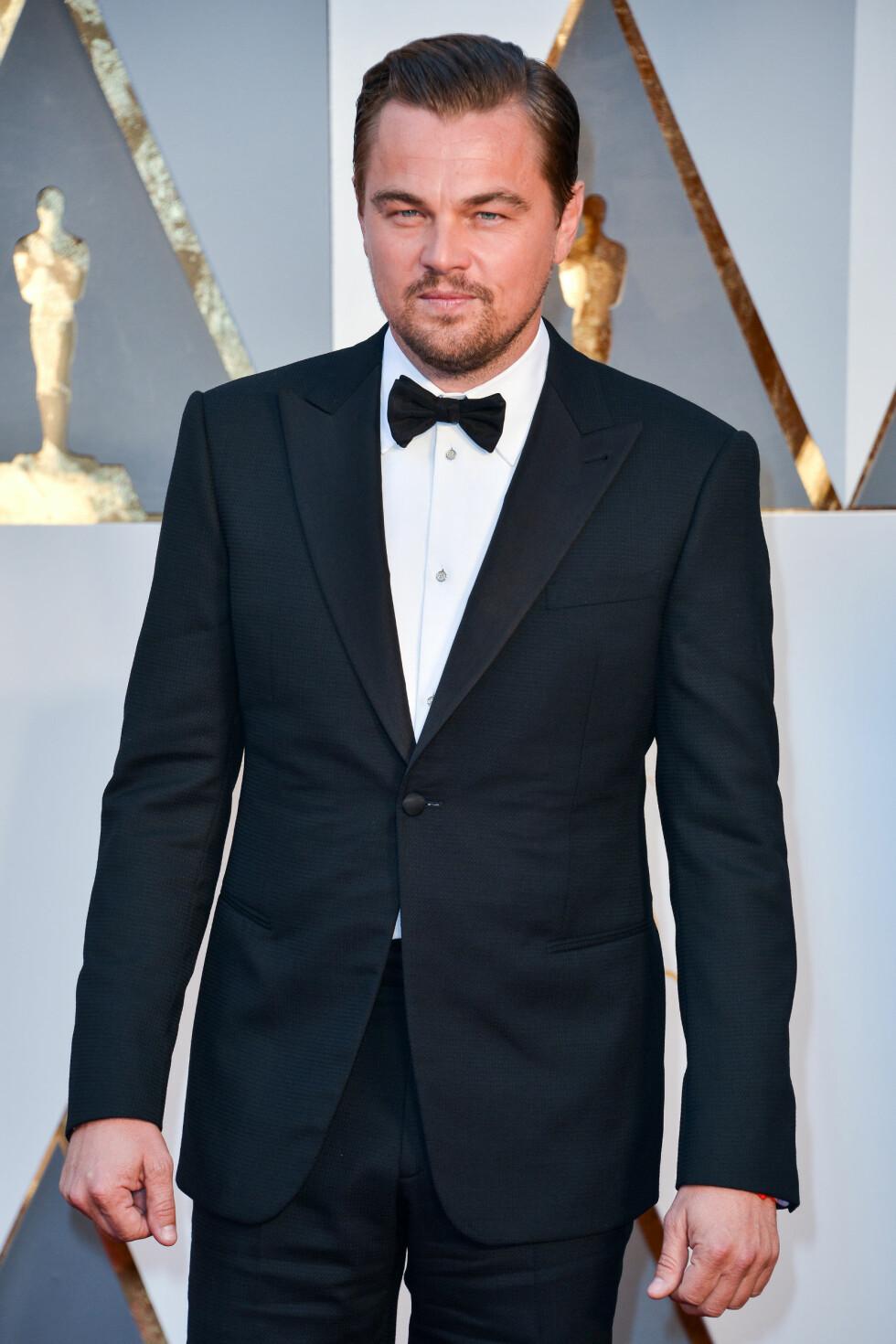 ALDRI VÆRT GIFT: Skuespiller Leonardo DiCaprio (41). Foto: NTB Scanpix