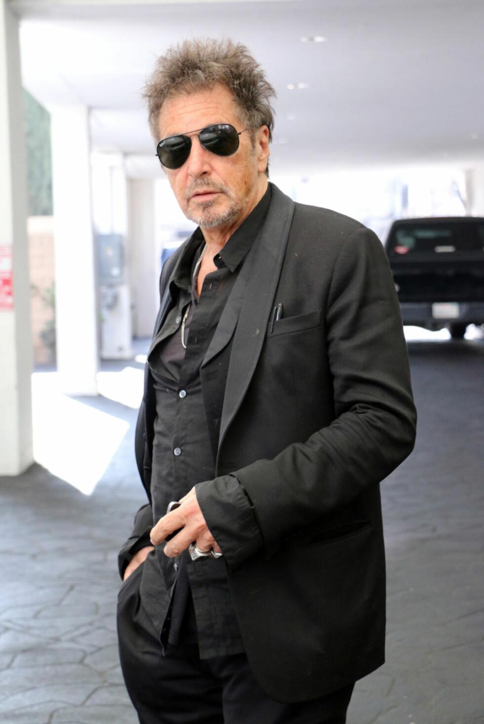 ALDRI VÆRT GIFT: Skuespiller Al Pacino (75). Foto: NTB Scanpix