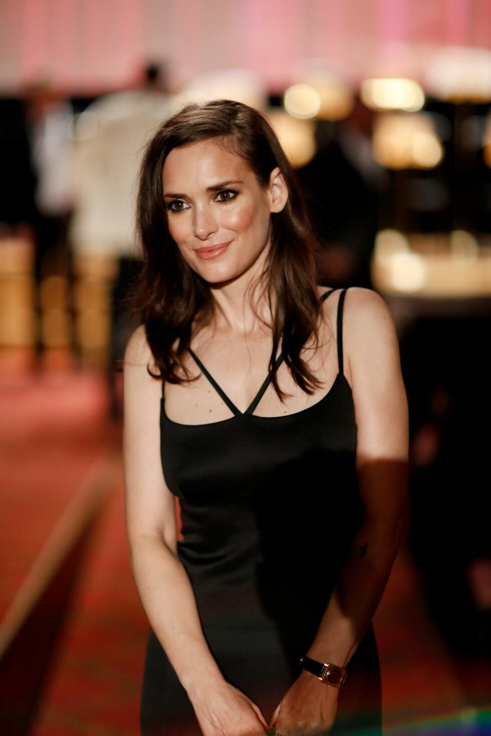 ALDRI VÆRT GIFT: Skuespiller Winona Ryder (44). Foto: NTB Scanpix