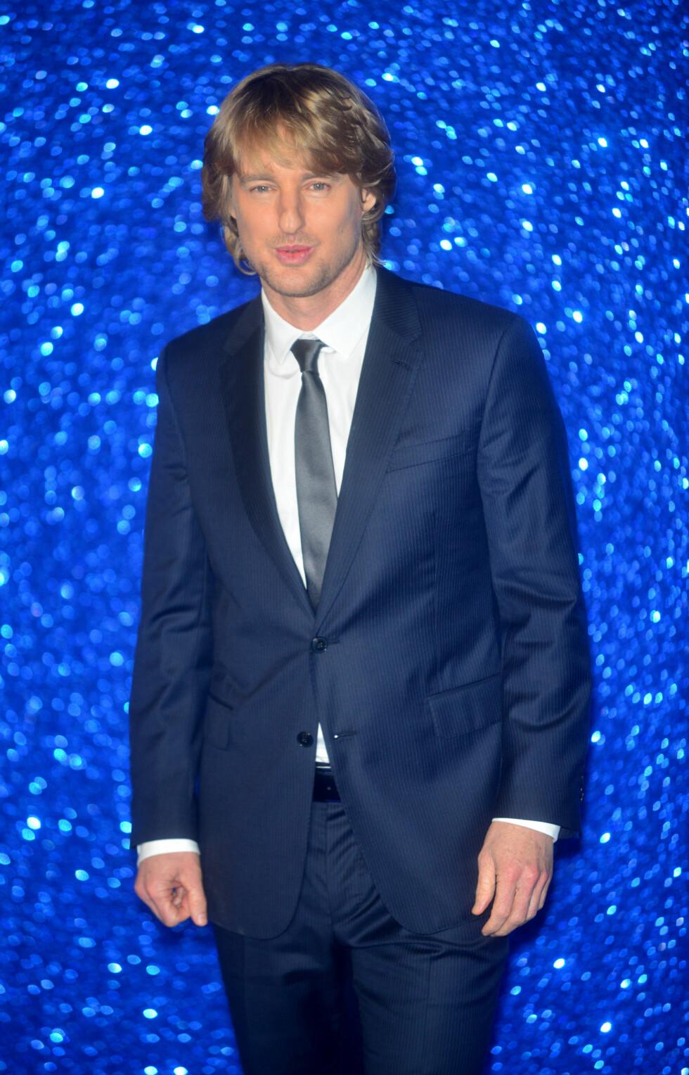 ALDRI VÆRT GIFT: Skuespiller Owen Wilson (47). Foto: NTB Scanpix