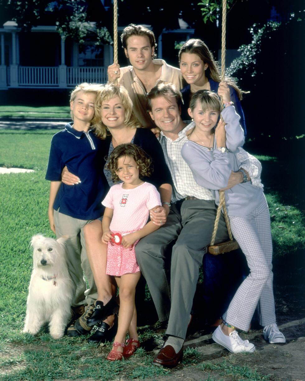 DEN SYVENDE HIMMEL: 11 sesonger av den populære TV-serien om familien Camden ble sendt i perioden 1996 - 2007.  Foto: CBS Studios Inc. // TVNorge