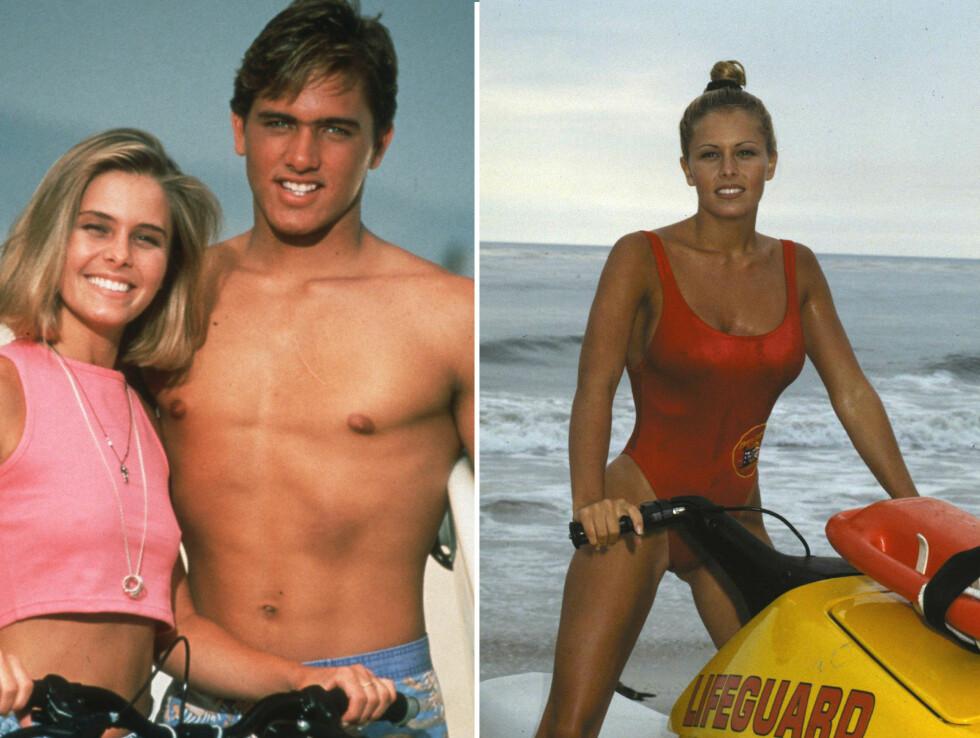 NICOLE EGGERT SOM SUMMER QUINN: Spilte i serien fra 1992 til 1996 og var the girl next door som alle unge jentefans ville bli. Summer hadde et forhold til to hunks i serien - Jimmy (spilt av surfelegende Kelly Slater) og Matt (spilt av David Charvet).