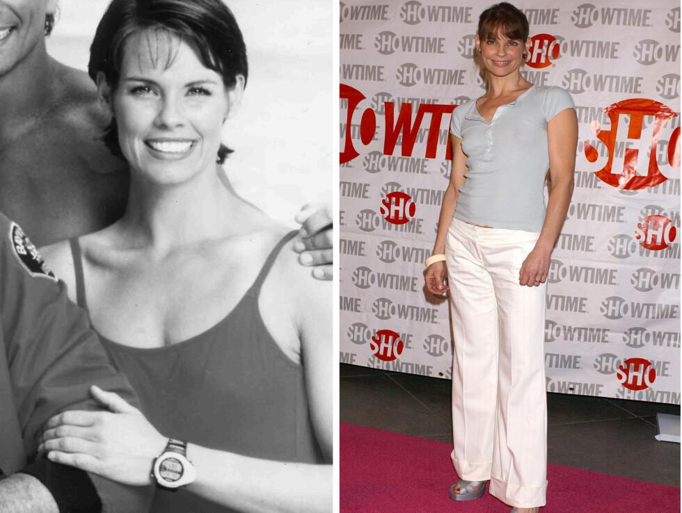 ALEXANDRA PAUL SOM STEPHANIE HOLDEN: Spilte i serien fra 1992 til 1997 og var allerede et kjent navn før serien etter en karriere som modell. Etter Baywatch ble hun en helseaktivist og coach, og har også hatt roller i mindre serier og filmer, og har produsert to dokumentarer.