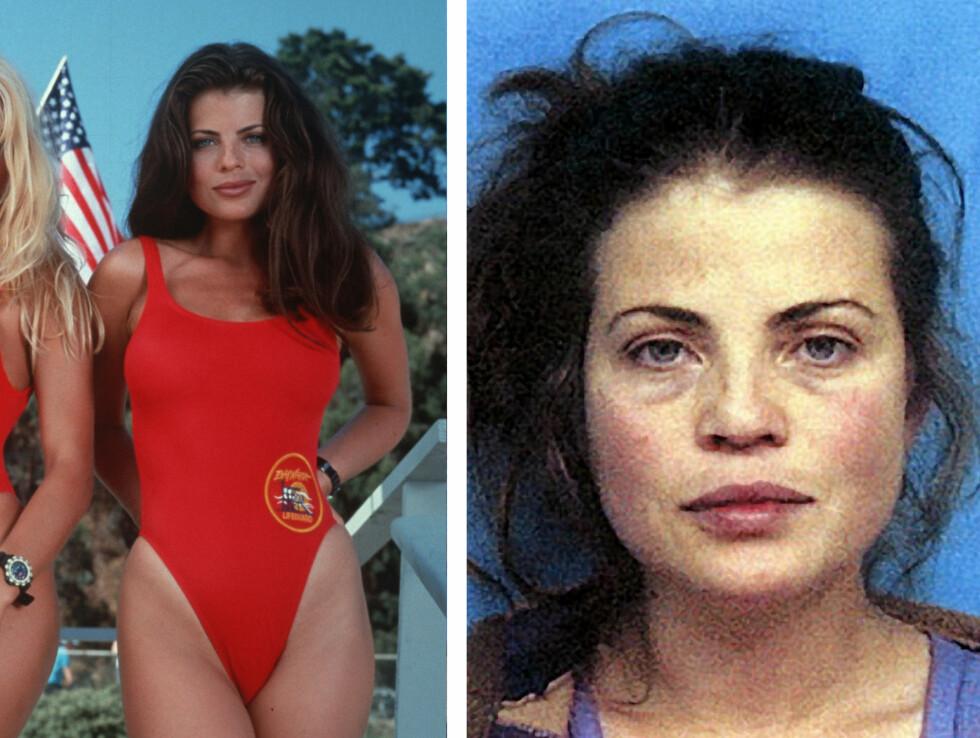 YASMIN BLEETH SOM CAROLINE HOLDEN: Yasmin spilte lillesøsteren til Alexandra Paul fra 1993 til 1997. I 2001 (bildet t.h) ble hun arrestert for å ha kjørt i ruset tilstand. Både hun og ektemannen Paul Cerroti slet med narkotikaproblemer i mange år, men skal nå være rusfrie. De bor i LA.