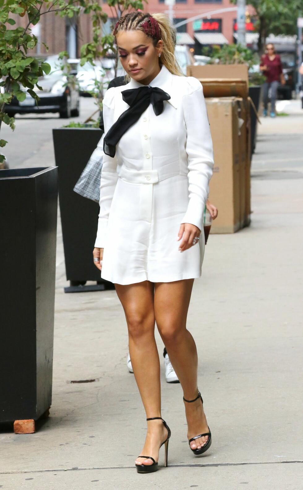 Rita Ora.  Foto: Zuma Press