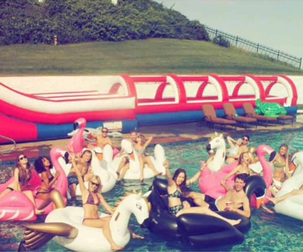 Taylor Swift med venner