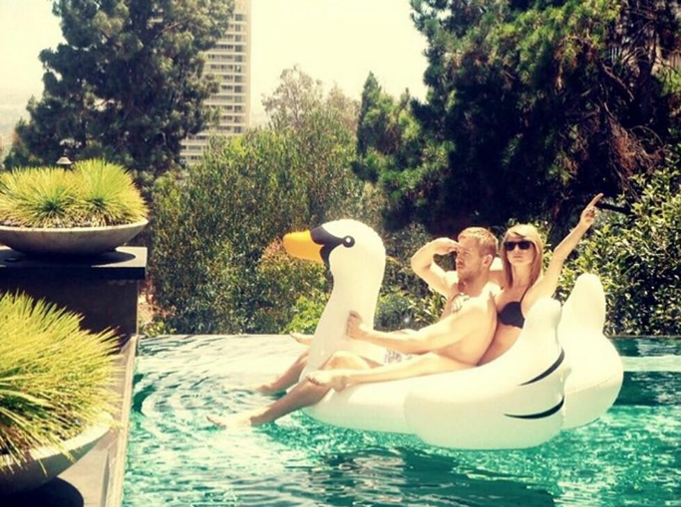 Calvin Harris og Taylor Swift