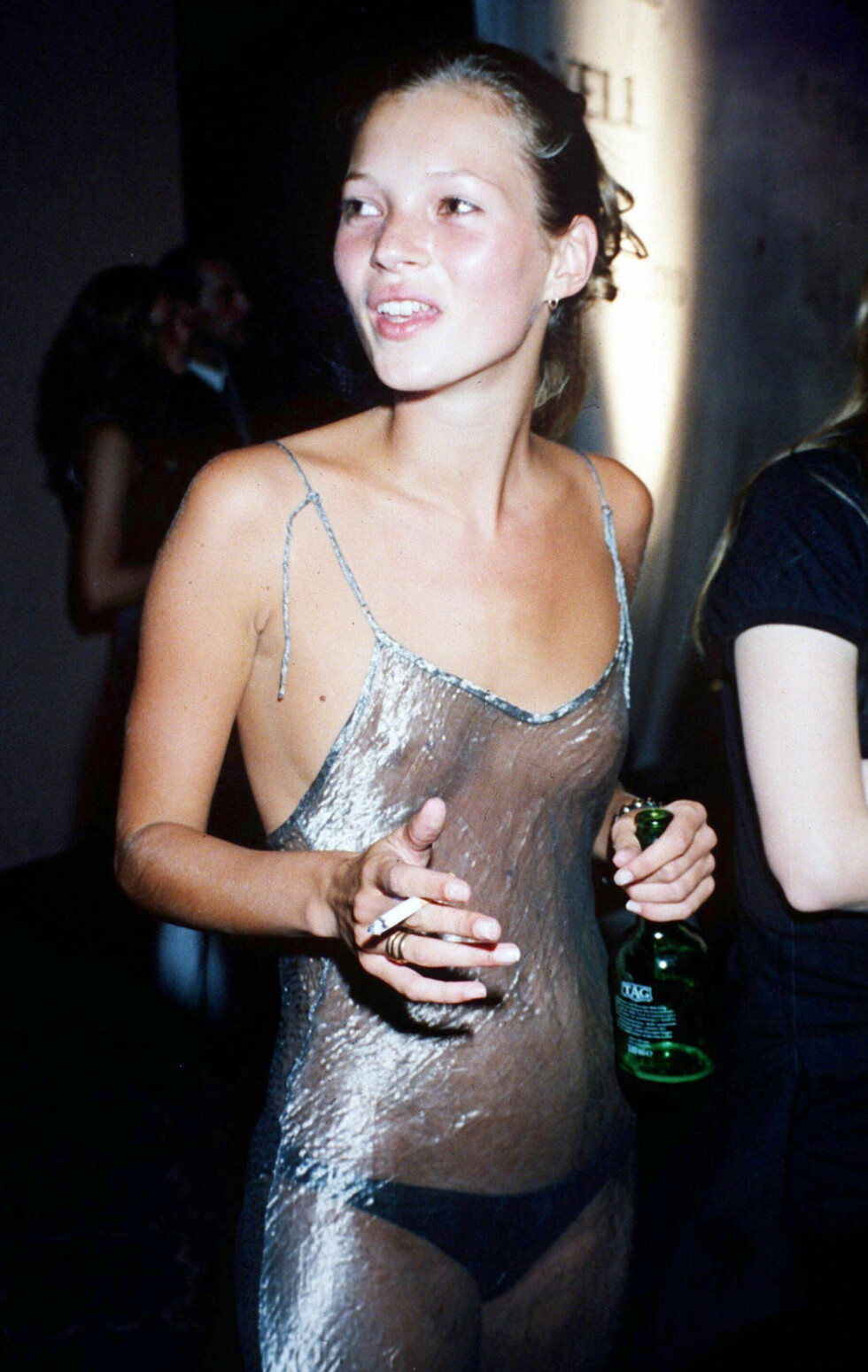 ANNO 1993: Kate Moss var her 20 år gammel. Foto: All Over Press