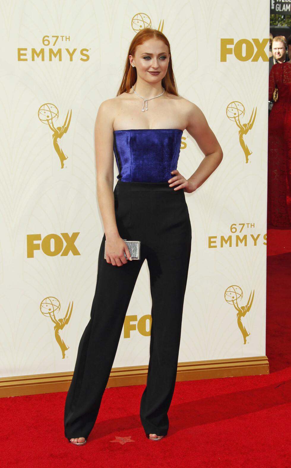 Sophie på Emmy Awards i 2015. Foto: Pa Photos