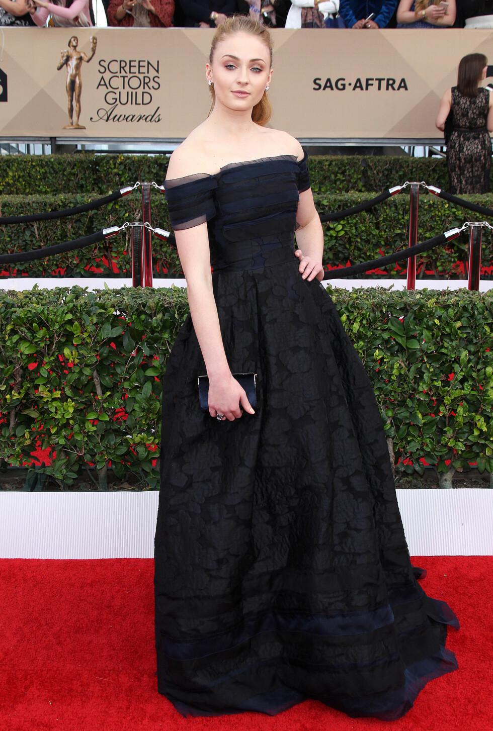 Sophie på Screen Actors Guild Awards i januar.   Foto: Broadimage