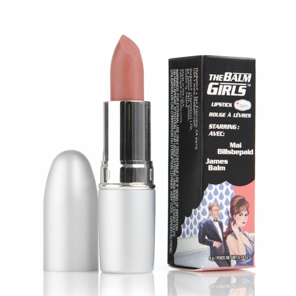 Kvinnene som har anmeldt denne leppestiften, forteller at den føles utrolig myk og deilig på leppene og at den tilfører fuktighet. Foto: Blivakker