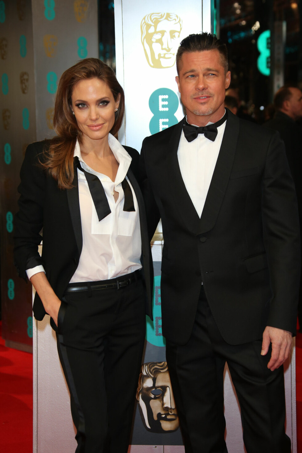 PAR I HJERTER: Angelina Jolie og Brad Pitt. Foto: NTB Scanpix