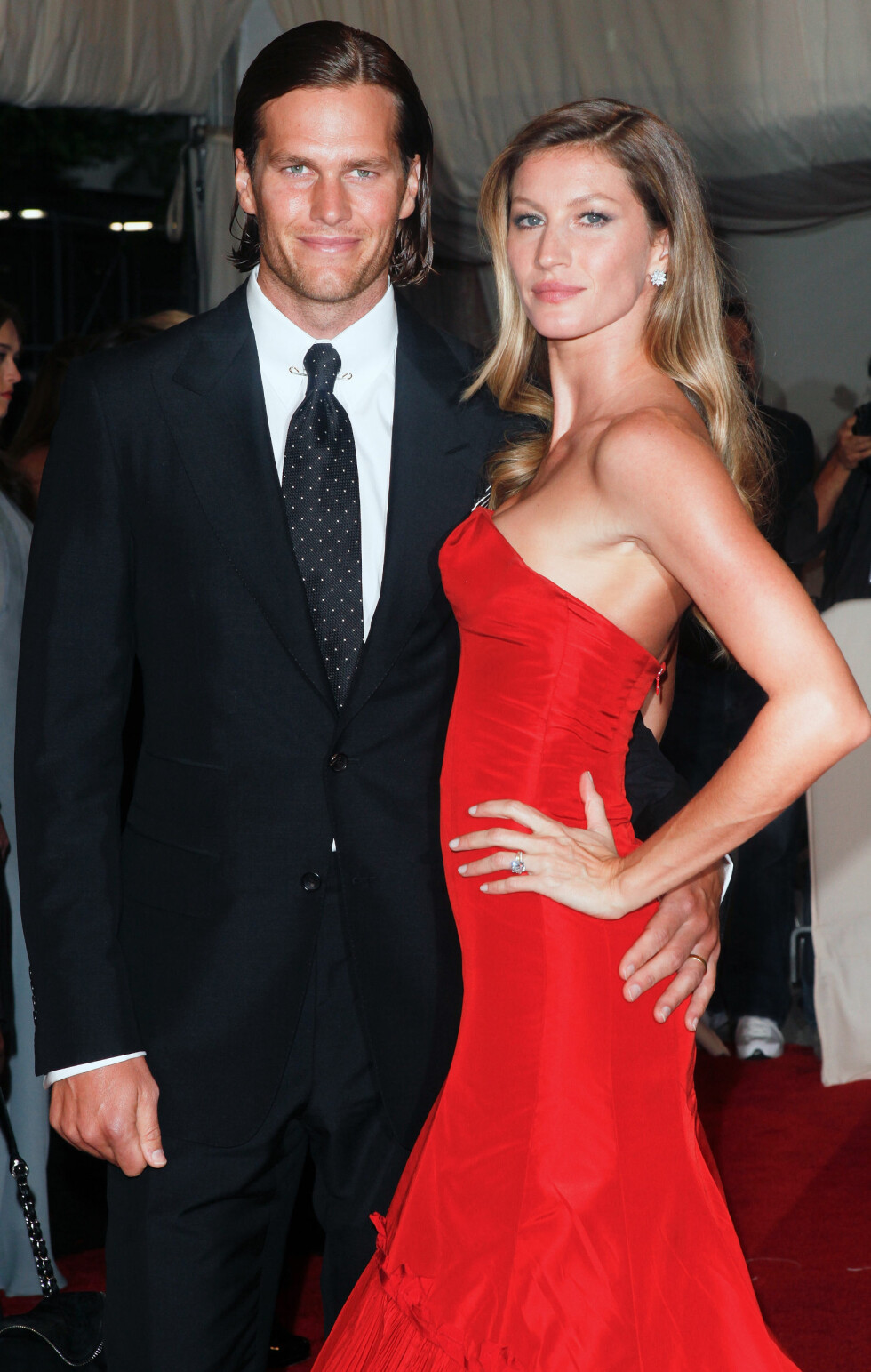 PAR I HJERTER: Tom Brady og Gisele Bündchen. Foto: NTB Scanpix