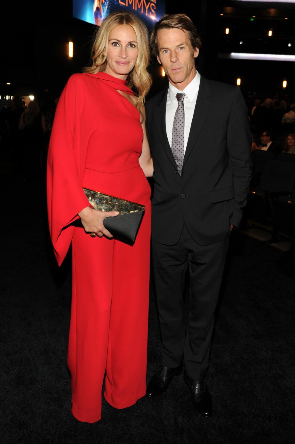 PAR I HJERTER: Julia Roberts og Danny Moder. Foto: NTB Scanpix