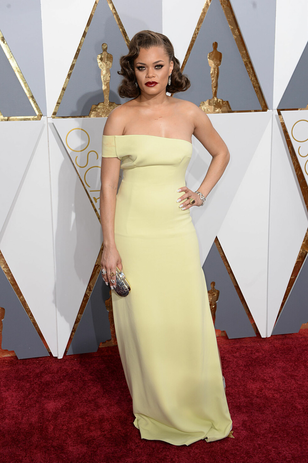 <strong>OSCAR 2016:</strong> Andra Day. Foto: NTB Scanpix