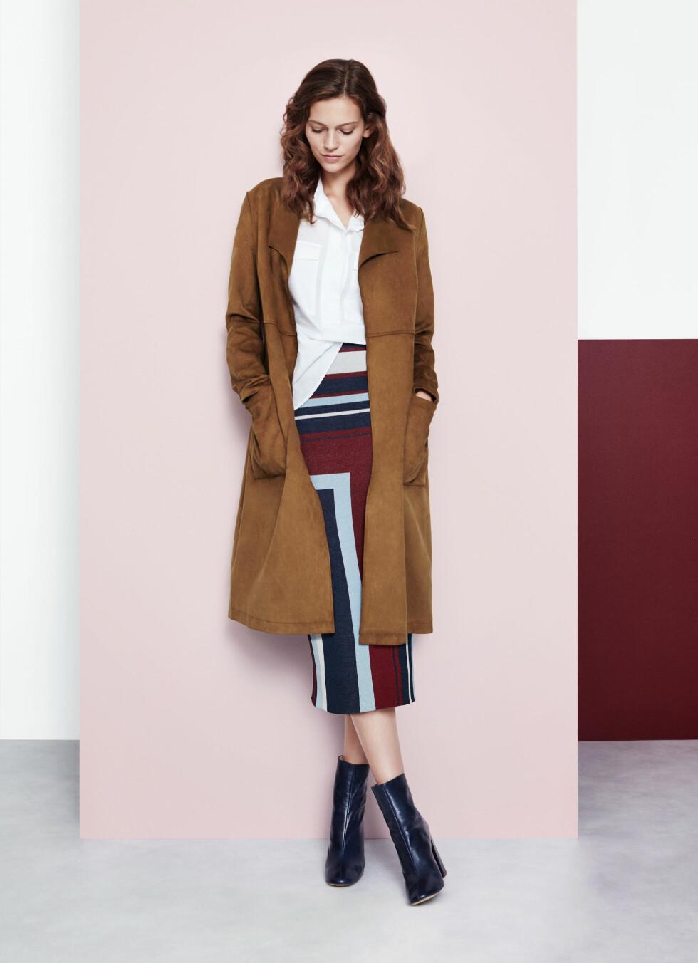 Statementplagg - som dette skjørtet, kan kombineres med enkle, stilrene klær og accessoirer.  Foto: Lindex