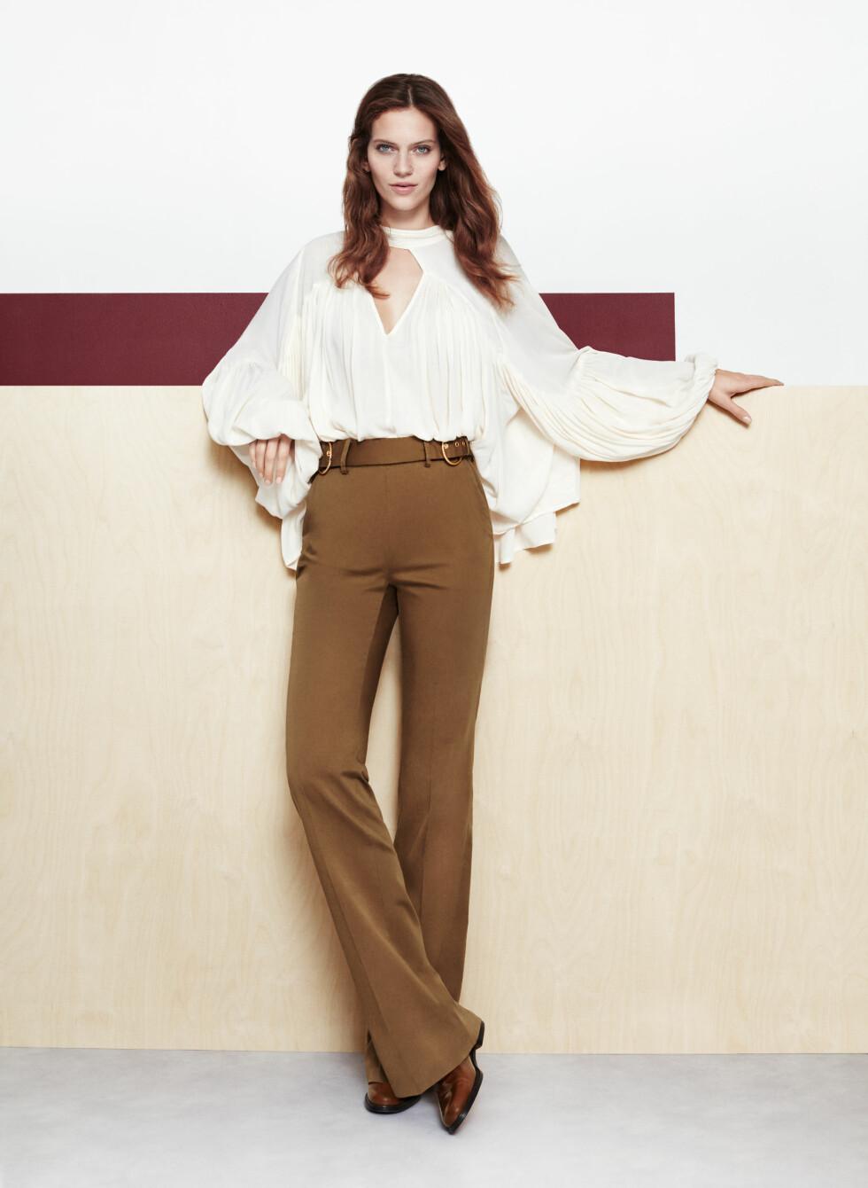 70-tallet med high waist-bukser og flagrende overdeler.  Foto: Lindex