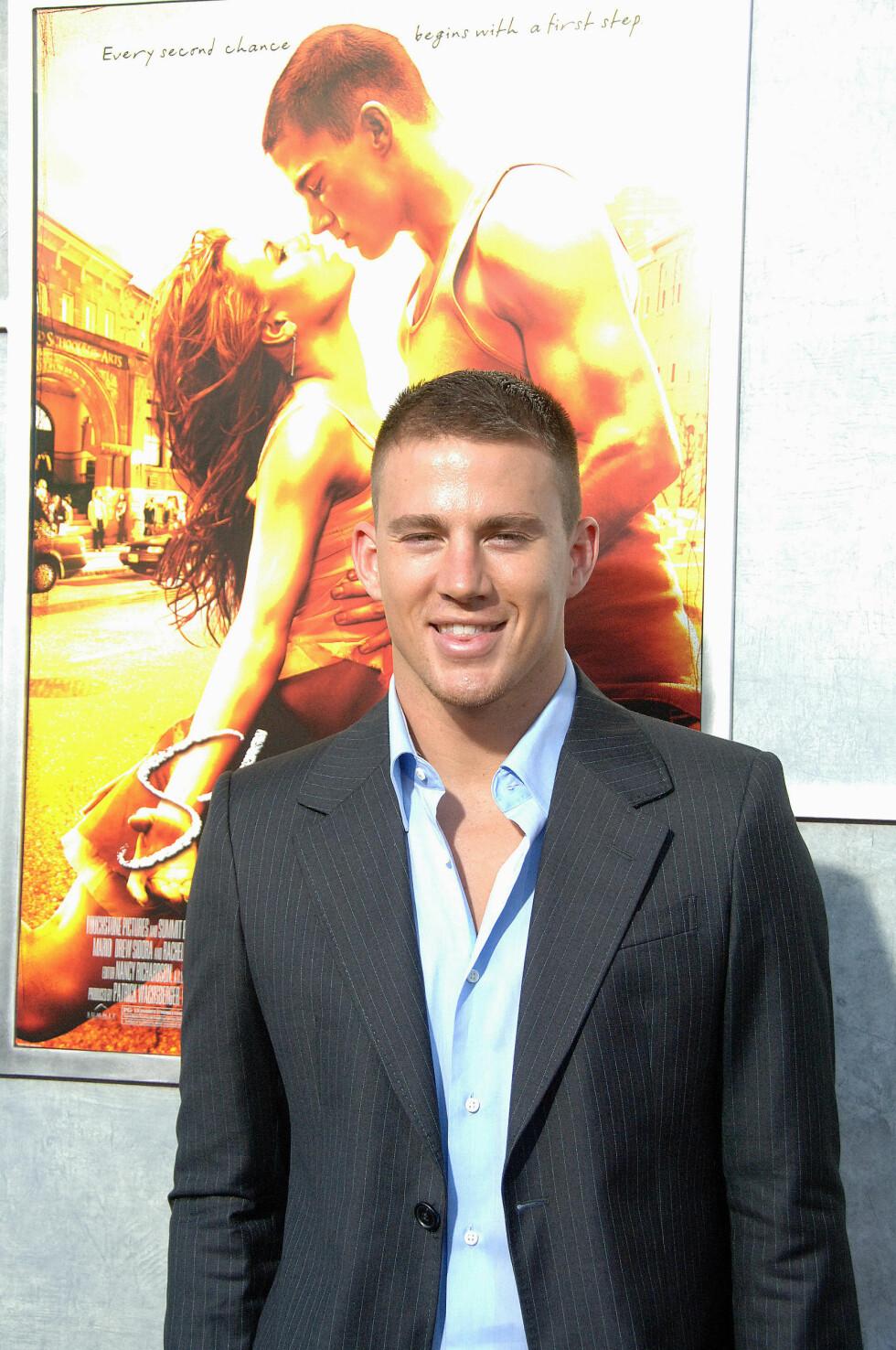CHANNING TATUM: Åh, som vi elsket Channing Tatum i «Step up» fra 2006! Foto: NTB Scanpix