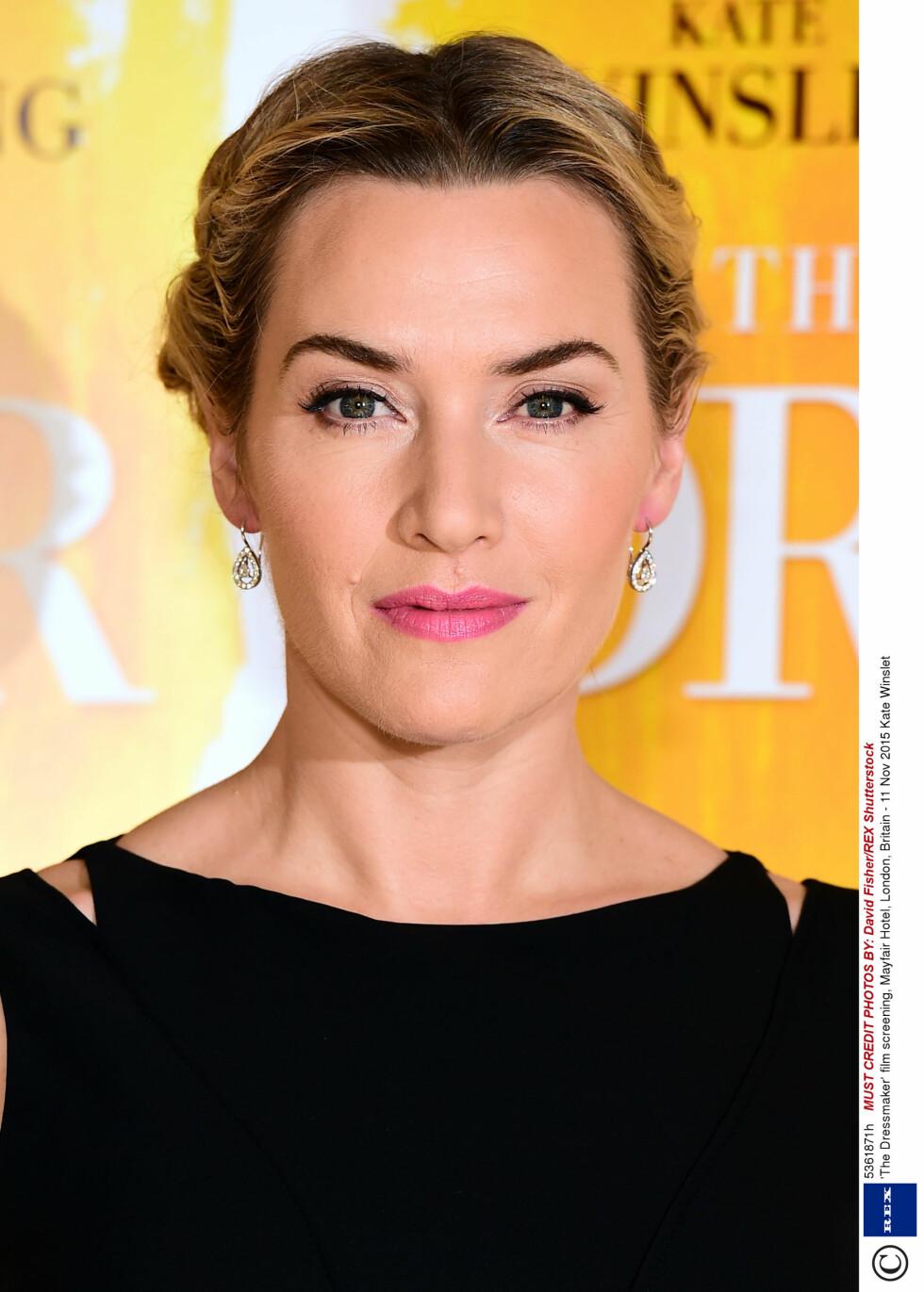 VAKKER: Kate Winslet ser like flott ut som hun gjorde i storfilmen Titanic! Foto: Rex Features