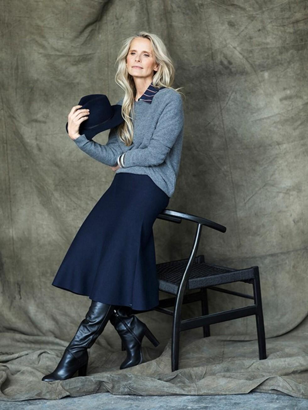ERFAREN: Torun Johansson Delhalle startet modellkarrieren i Paris som 17-åring. Etter at hun fylte 50 år ble hun kontaktet av flere agenturer som ville ha henne med på laget igjen. Foto: Daniela Ferro