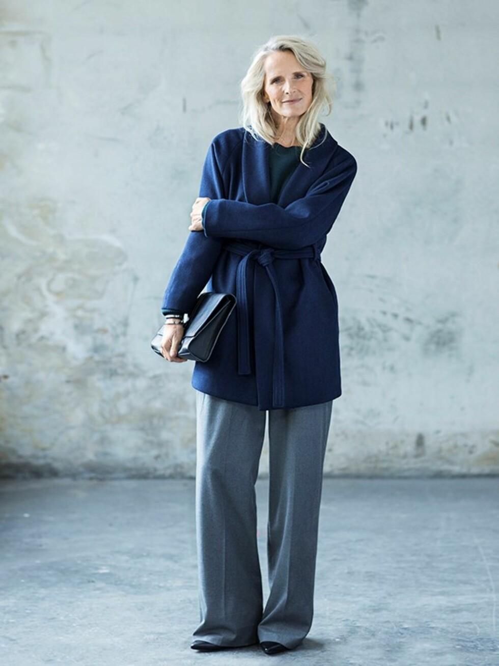 FORBILDE: Torun Johansson Delhalle sier til KK.no at hun kommer til å fortsette å jobbe som modell så lenge det gir henne glede. Foto: Daniela Ferro