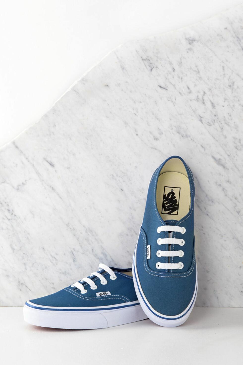 Blå sko i modellen Old Skool fra   Vans   http://apprl.com/en/pd/4Nx2/