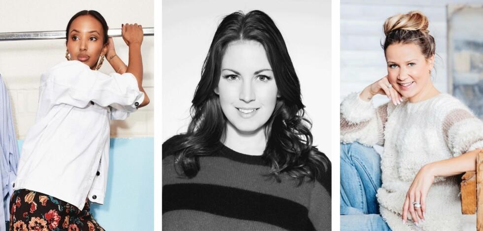 STYLISTENE: Afaf Ali, Cornelia Brunasso og Line Langmo.