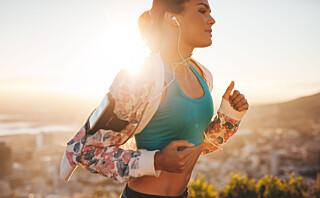 Etter bare ti minutter gir løping en positiv helseeffekt