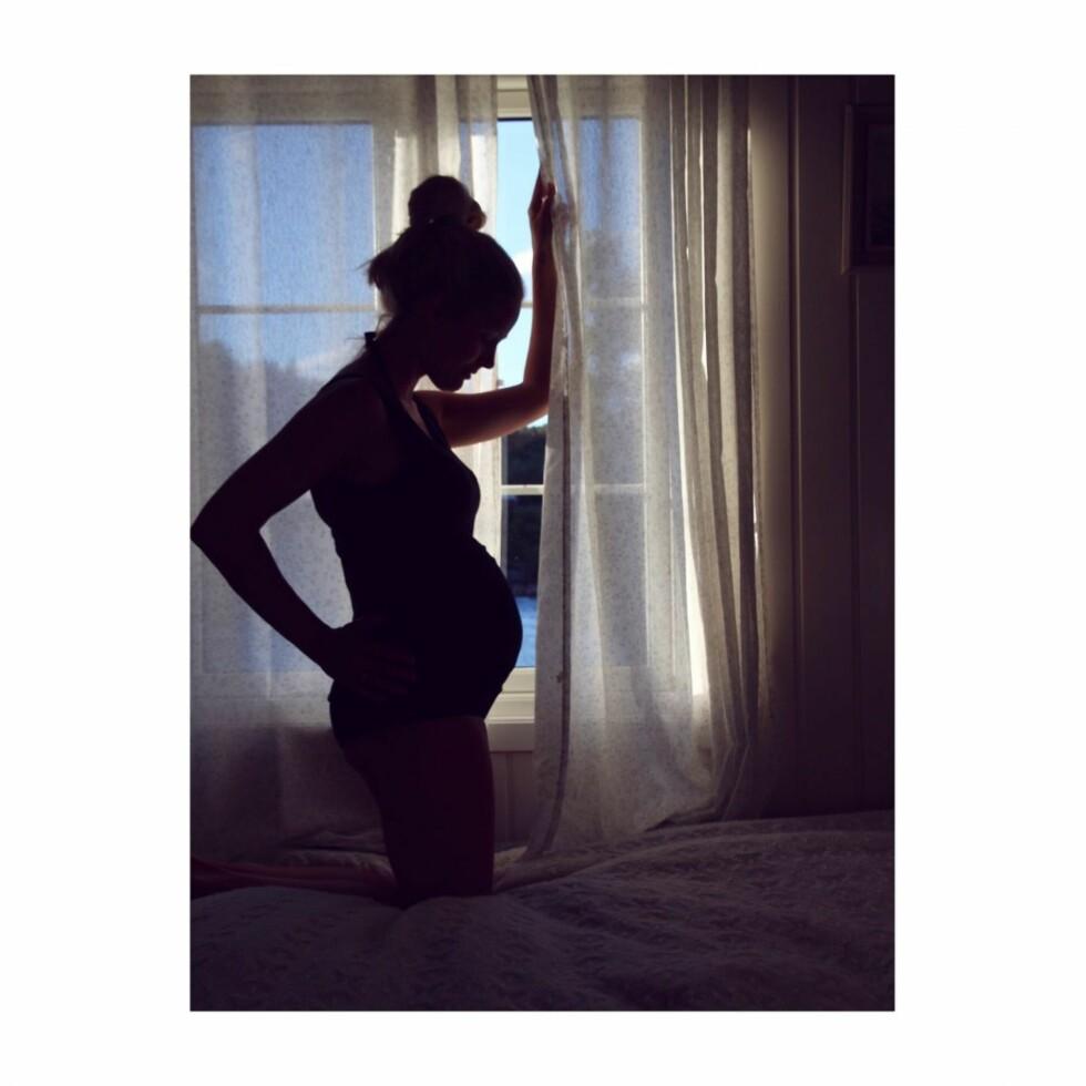 BLOGG: Maria Skappel Holzweiler er gravid!