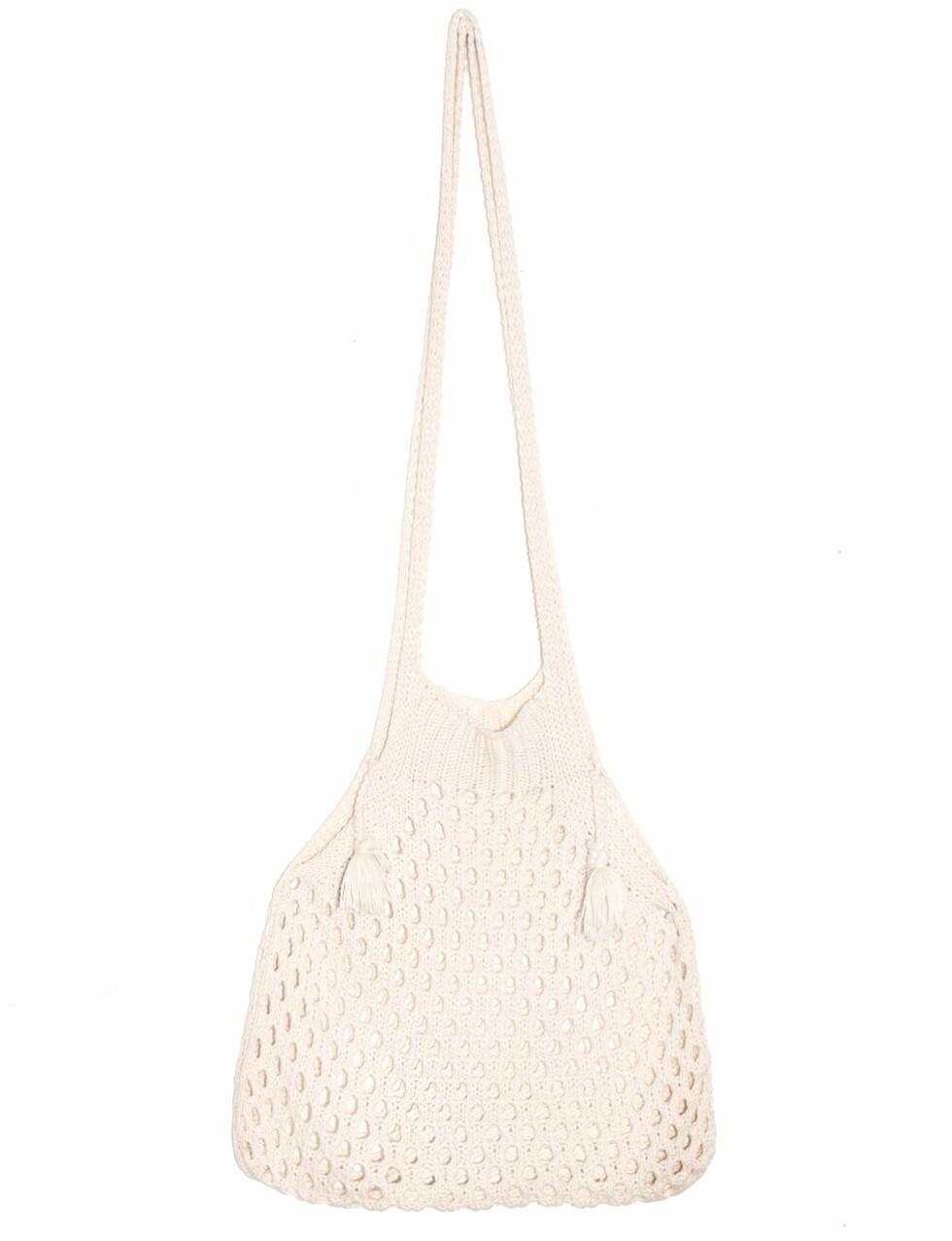 <strong>Nett-veske fra Pixie Market | kr 530 | http:</strong>//www.pixiemarket.com/knit-fisherman-net-shoulder-bag.html