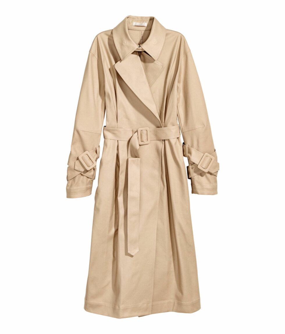 Trenchcoat fra H&M | kr 599 | http://www.hm.com/no/product/69251?article=69251-A