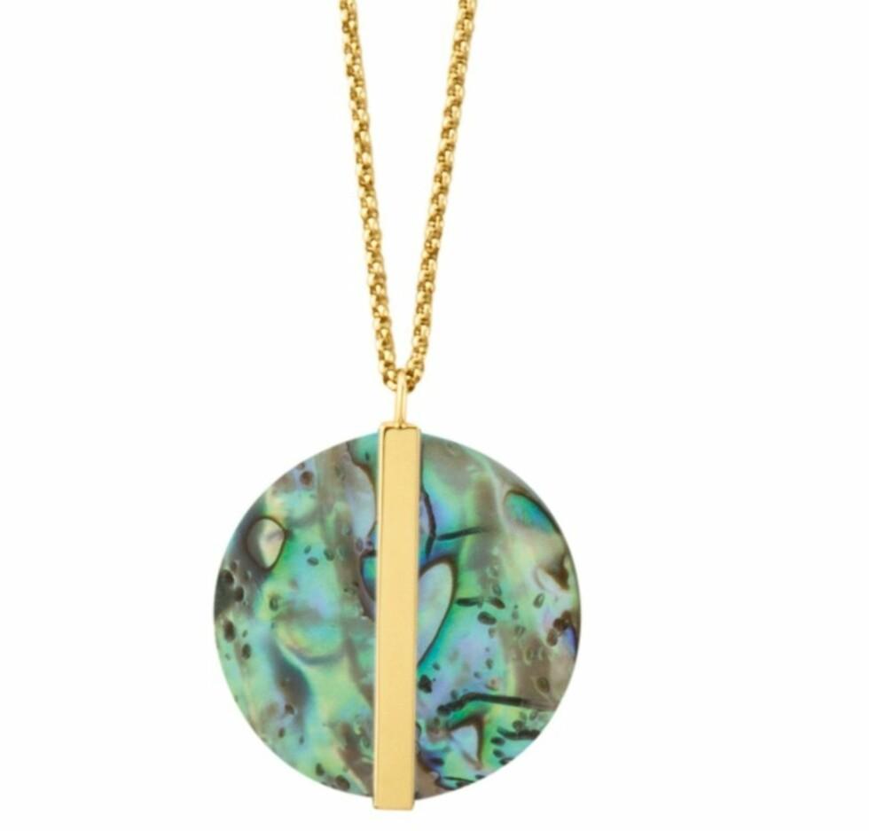 Kjede fra Dyrberg/Kern | kr 1099 | https://www.dyrbergkern.no/kvinner/halskjeder/platis-gold-necklace-1.html