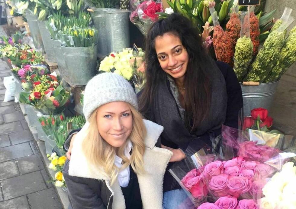 INITIATIVTAKERE: Thea Steen og Sofia Storhaug - venninne og journalistkollega - tok initiativ til #Sjekkdeg-kampanjen som retter fokus på livmorhalskreftproblematikken. Foto: TheaSteen.com