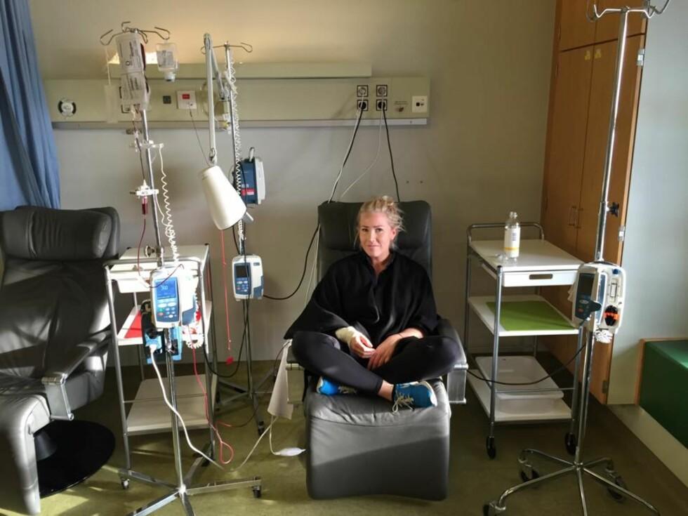 TAPPER: Thea Steen skrev om sykdomsperioden på bloggen sin, og ble en stor inspirasjon for leserne sine.  Foto: TheaSteen.com