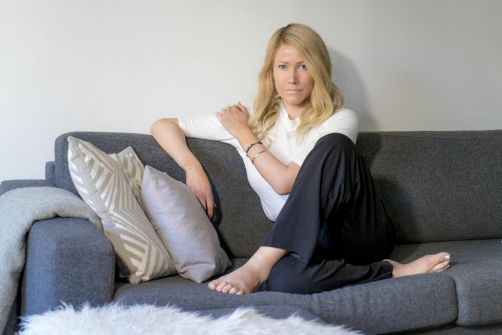 STERK: Dette bildet av Thea ble tatt rundt to måneder før hun måtte gi tapt for kreftsykdommen. Foto: Per Ervland