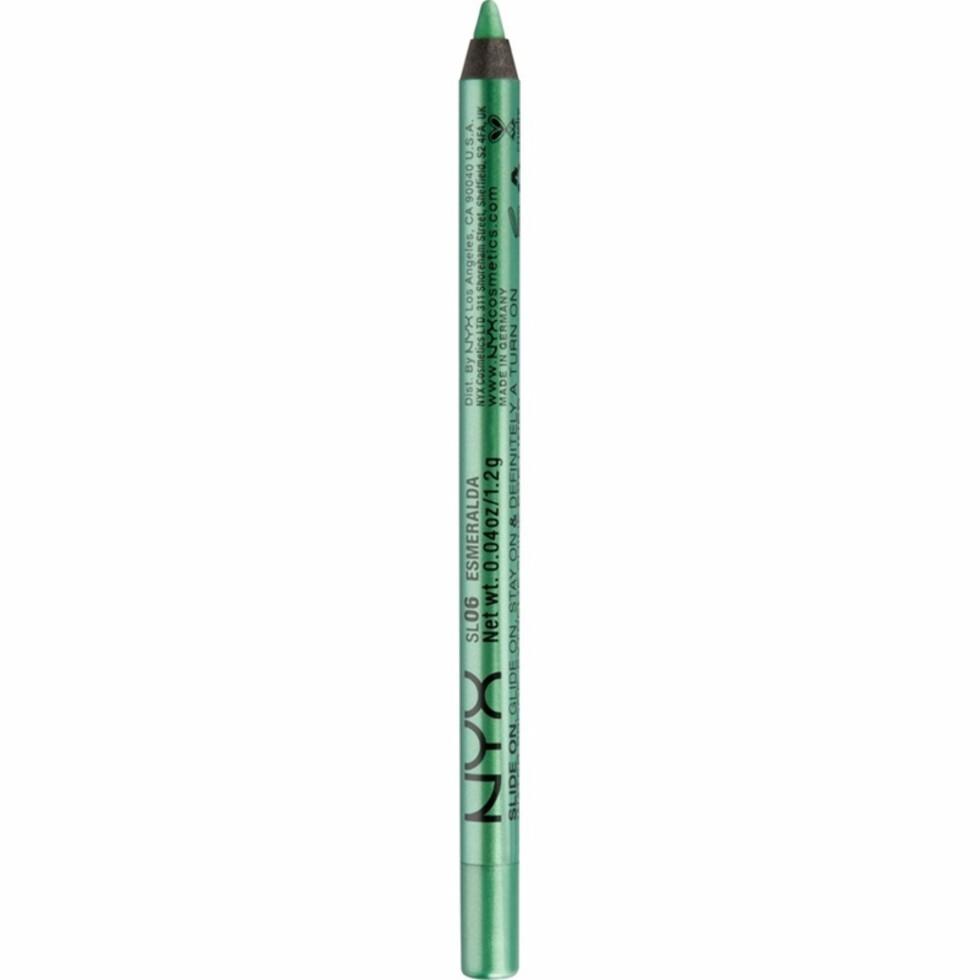 Eyeliner fra NYX via Nordicfeel.no   kr 75   https://track.adtraction.com/t/t?a=997224614&as=1115634940&t=2&tk=1&url=https://www.nordicfeel.no/make-up/oeyne/eyeliner/nyx-slide-on-pencil-31668