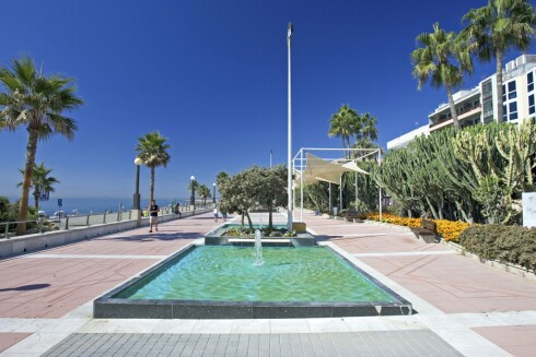 ESTEPONA: Stedet for tilbakelent og fredelig strandferie. Foto: NTB scanpix