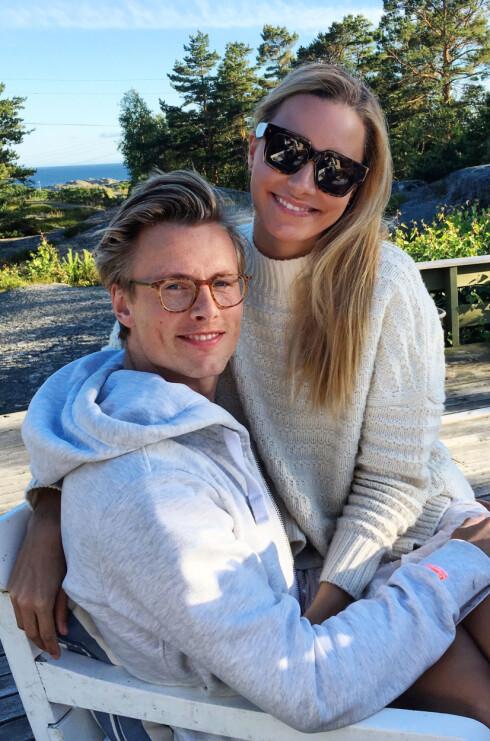 BRYLLUP: Neste sommer blir Lavrans Solli og Anja Johansen mann og kone.  Foto: Privat // Anja Johansen